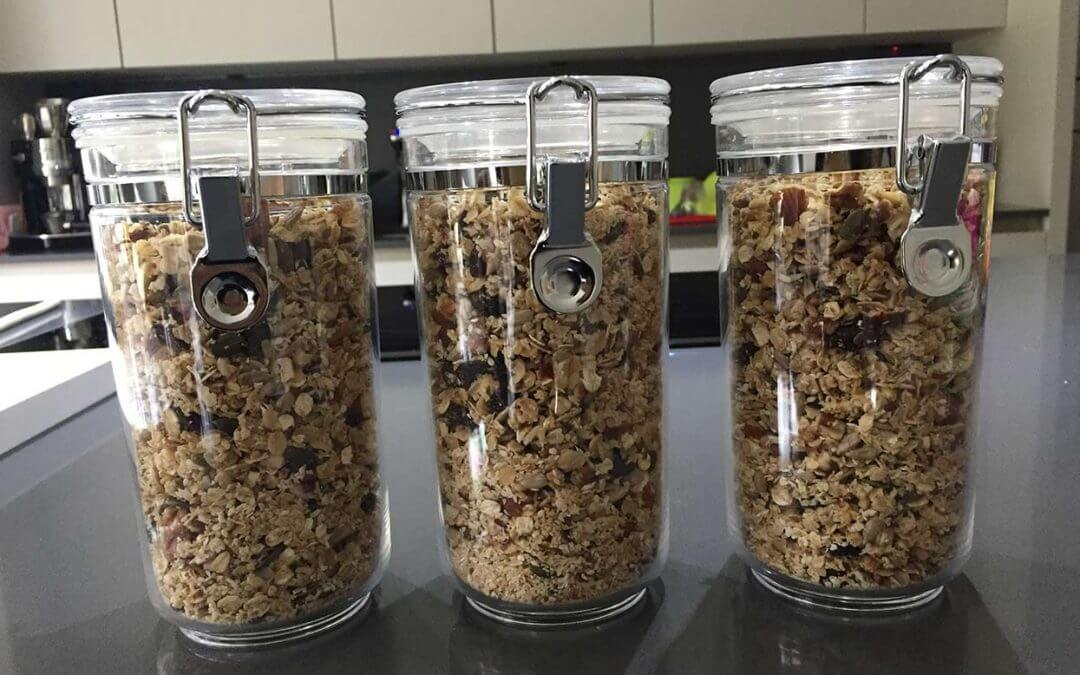 My Family's Healthy Breakfast Granola